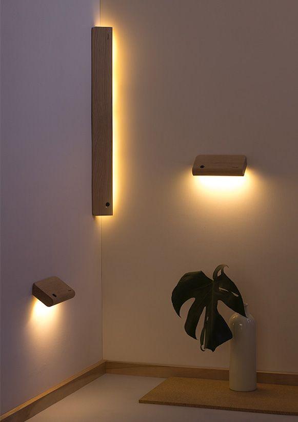 Luzes de madeira – Bem Legaus