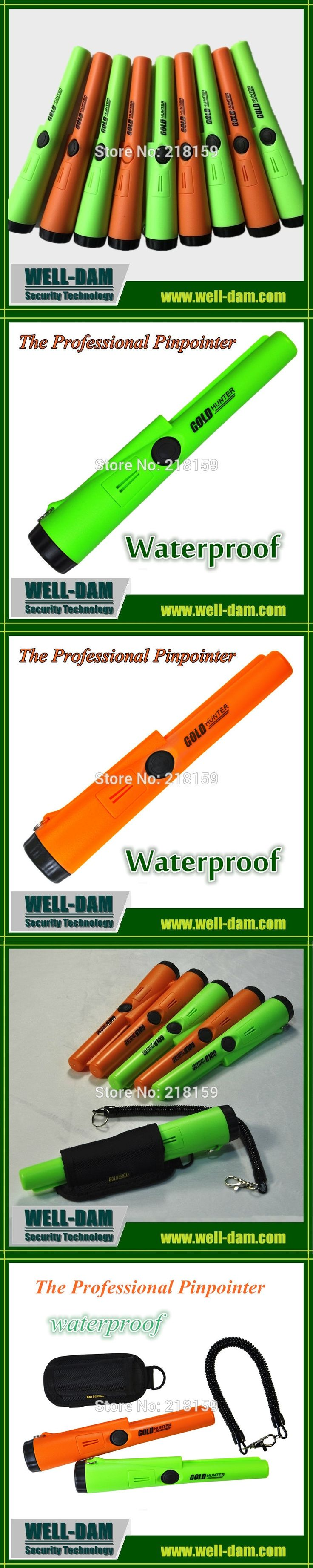 Gold Hunter AT - Waterproof propointer Metal Detector Pinpointing Same Style Gold Detector Static Alarm with Bracelet
