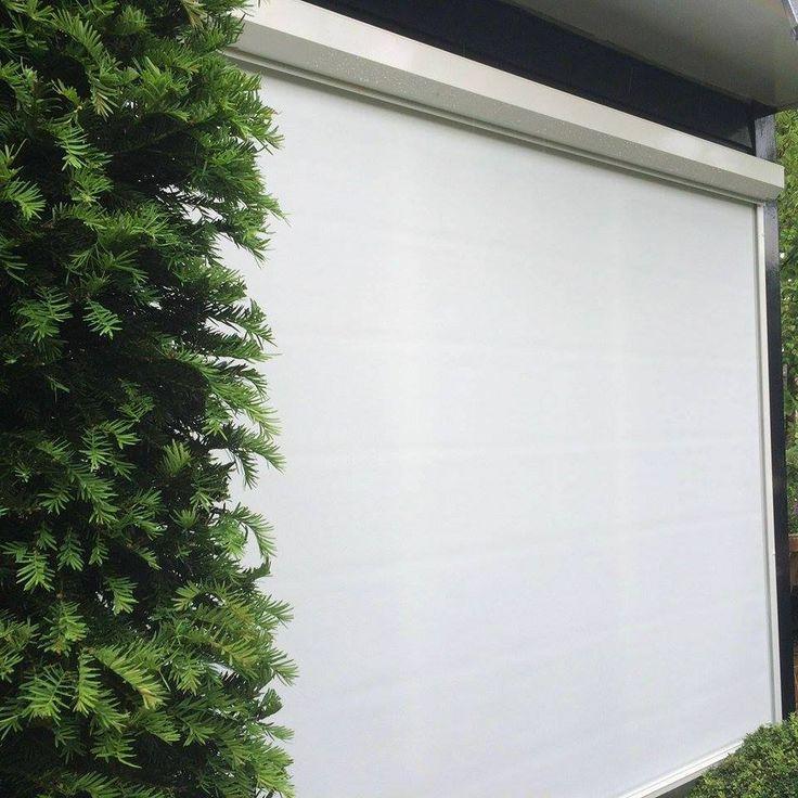 Zipscreen geplaatst in Best.  #rolluiken #screen #zipscreen #ritsscreen #veranda #zonnescherm #knikarmscherm #horren #rolgordijnen #binnenzonwering #kozijnen #rolpoorten #garagedeuren #perfect #jvszonwering #discount #zipscreeninbest