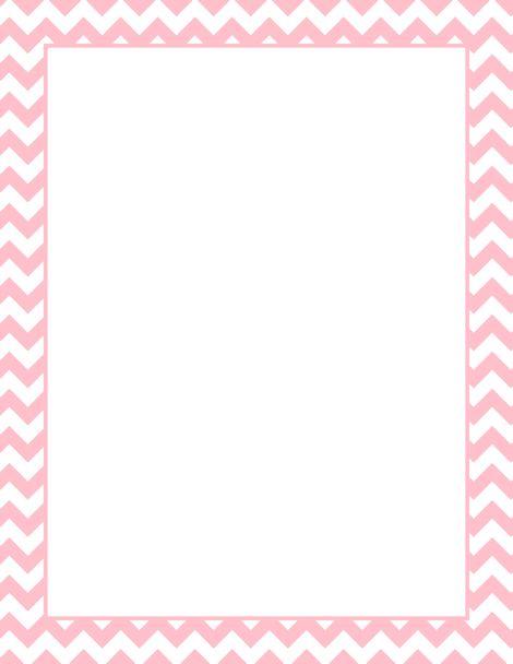 Printable pink chevron border. Free GIF, JPG, PDF, and PNG downloads ...