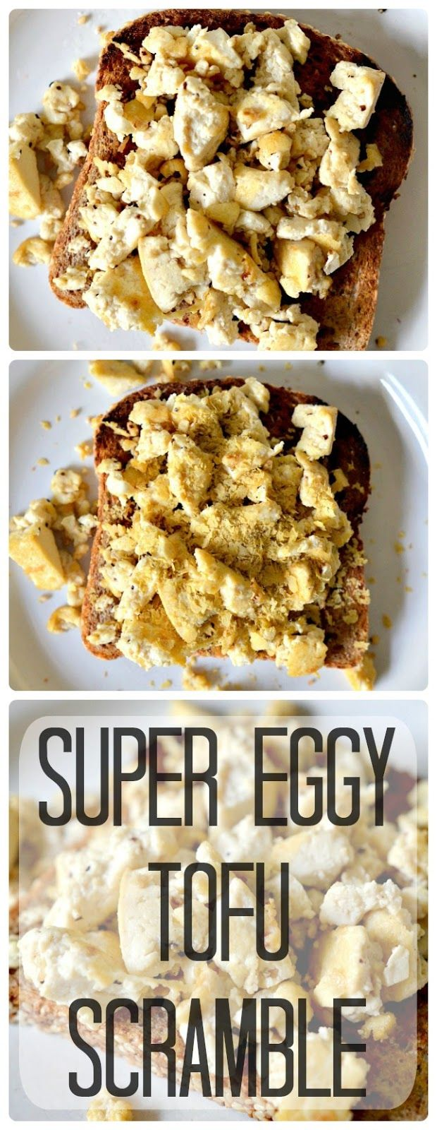 Housevegan.com: Super Eggy Tofu Scramble - My favorite scramble ever. It's so easy, requires just a few ingredients, and is great for those who choose not to eat eggs, but miss the taste.