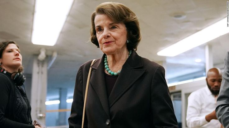 "President Donald Trump is right that California Sen. Dianne Feinstein faces a ""tough primary"" this year."