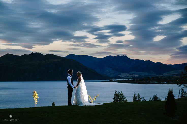 Evening Wedding photograph at Rippon