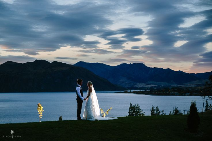 Evening Wedding photograph at Rippon