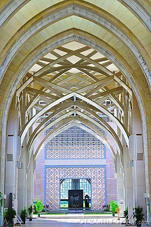 Arquitetura islâmica da arte e do detalhe Imagem de Stock Editorial