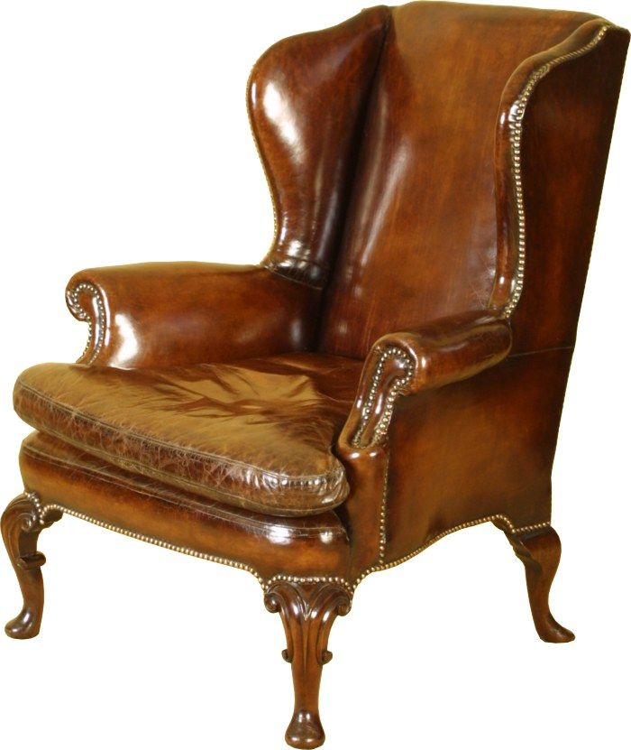 Ch 36.11 'Of course, her inspection of the upholstery was fruitless, and she had just dropped down beside the wing chair to search under it when the door of the study opened and Farley walked in, followed by Mr Collins.' This pic - wing back chair.