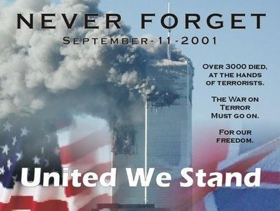 Seems as though after 14 years we Americans have forgotten the unity we felt after this tragedy. Life as we knew it changed that day. We should remember that thousands lost their lives and thousands more were left behind to suffer the loss of mothers, fathers, sisters, brothers, and so forth because of hatred. 9/11 isn't just a date it stands for every innocent person that was affected by that horrific tragedy!