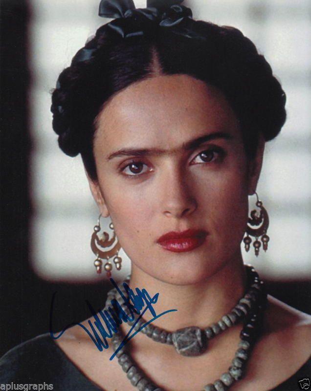 SALMA HAYEK.. Academy Award Nominee: Frida - SIGNED | eBay