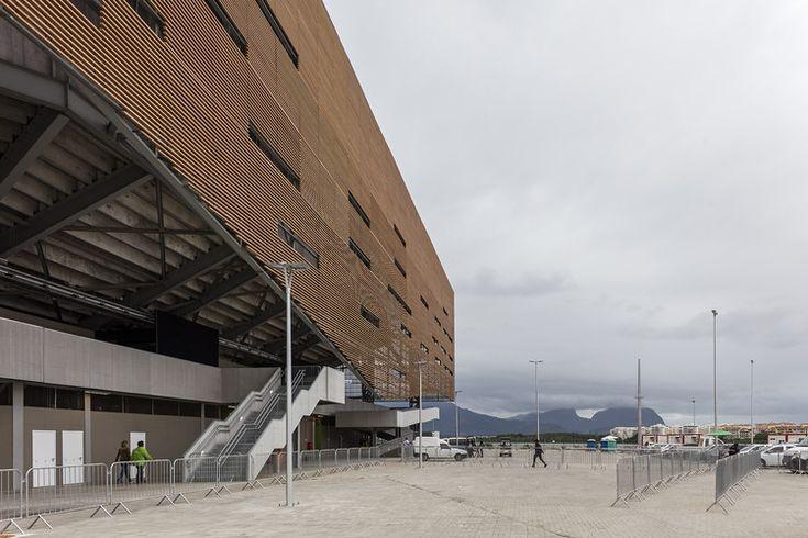 Rio 2016 Olympic Handball Arena / OA | Oficina de Arquitetos + LSFG Arquitetos Associados / Rio de Janeiro, Brasil