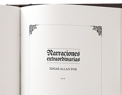 "Check out new work on my @Behance portfolio: ""Narraciones extraordinarias - Poe"" http://be.net/gallery/47661959/Narraciones-extraordinarias-Poe"