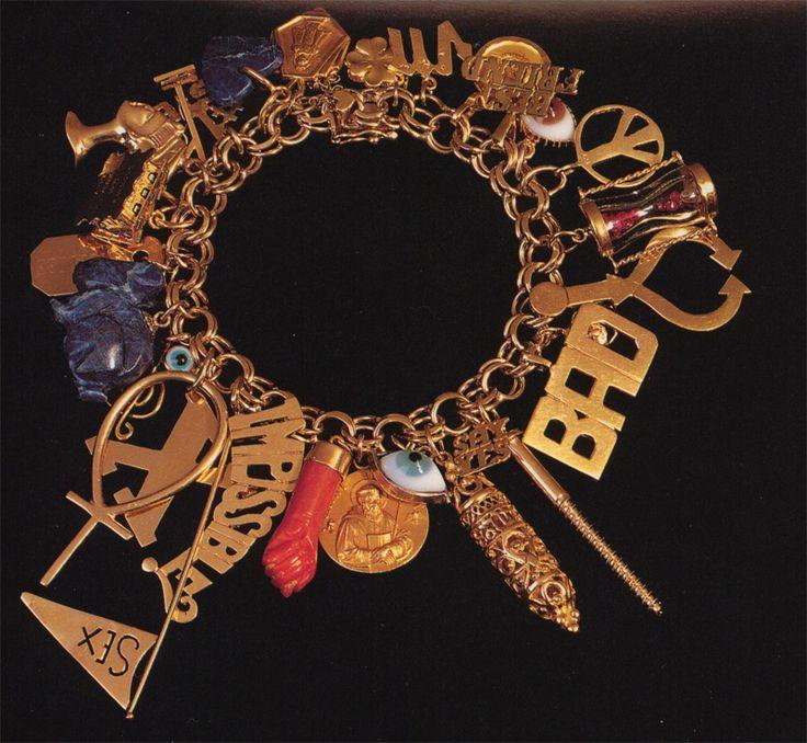 17 Best Images About Gold Charm Bracelets On Pinterest