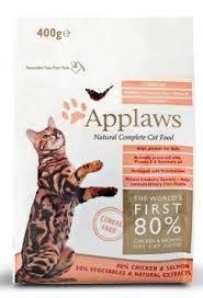 Applaws Chicken & Salmon kuivaruoka 400g. Hinta 11,80 €.