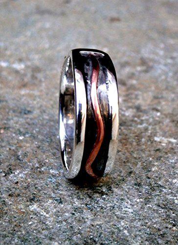 Unisex Wide Band Ring, Silver Oxidized with Copper, Custo... https://www.amazon.com/dp/B01CJRA5YC/ref=cm_sw_r_pi_dp_x_L7glyb1GJASA8