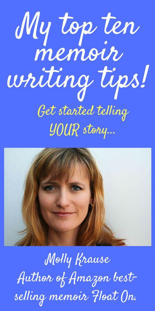 5 Tips for Writing a Memoir