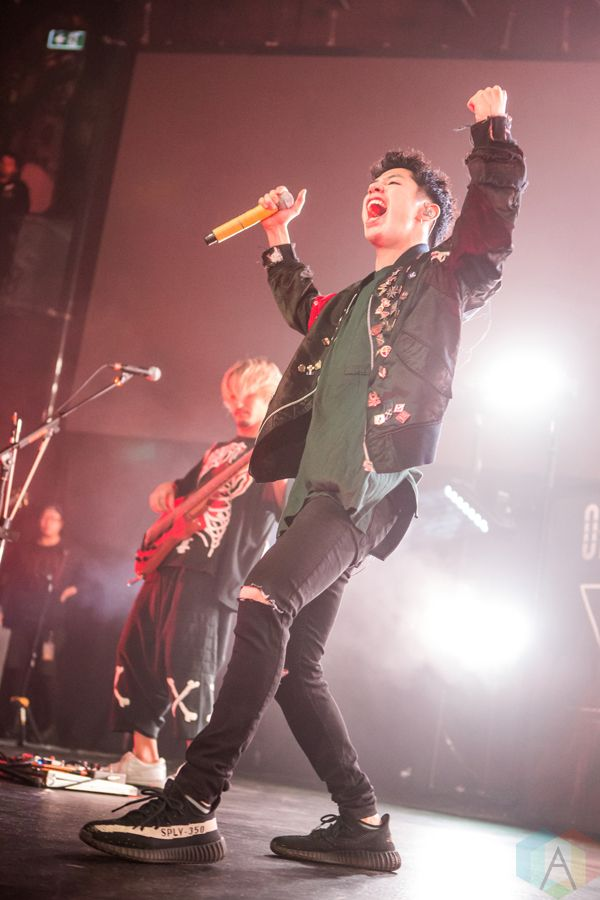 One Ok Rock performs at Rebel in