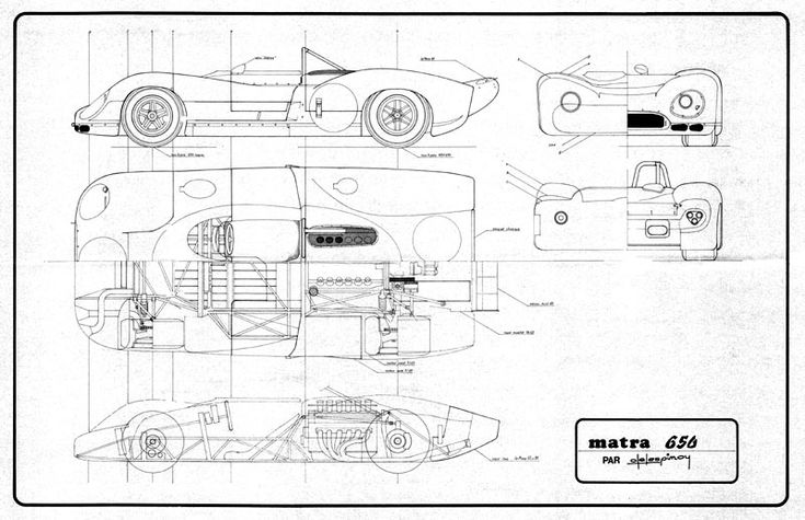 matra blueprints