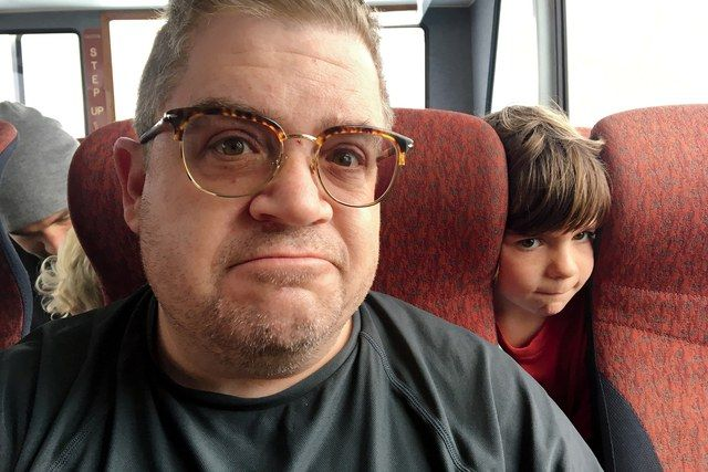 When Patton Oswalt's wife passed away in her sleep, he became a widower—and single parent to their 7-year-old daughter. Here, the actor and comedian writes about the only job he's got that really matters right now: being a dad.