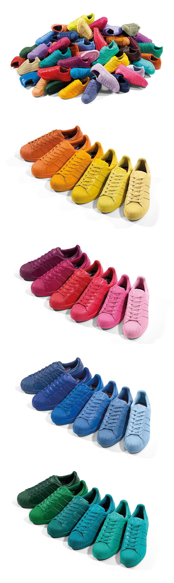 Pharrell Williams x adidas Originals Superstar Supercolor