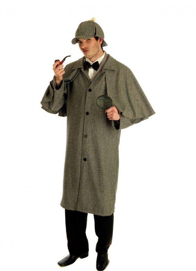 Sherlock Holmes (Victorian Detective) Costume