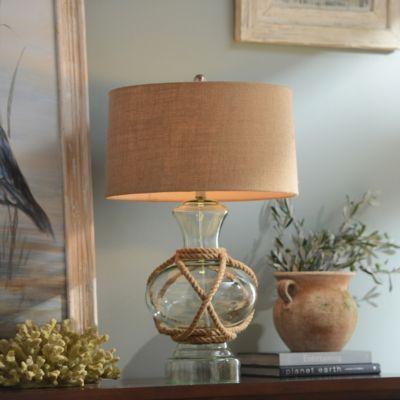 Woven Glass Table Lamp | Kirkland's love it