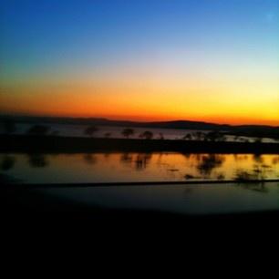 sun down, roadshot
