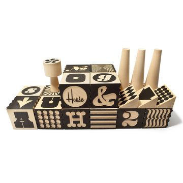 Alphabet Factory Blocks from Uncle Goose, $70, now featured on Fab.