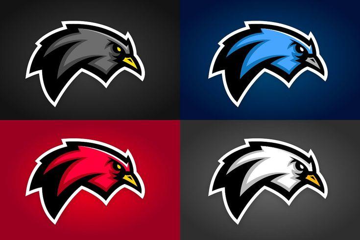 Bird sports graphics logo sketches sports graphics