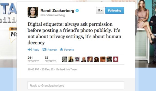 Randi Zuckerberg loses control on Facebook (and Twitter) | Technically Incorrect - CNET News