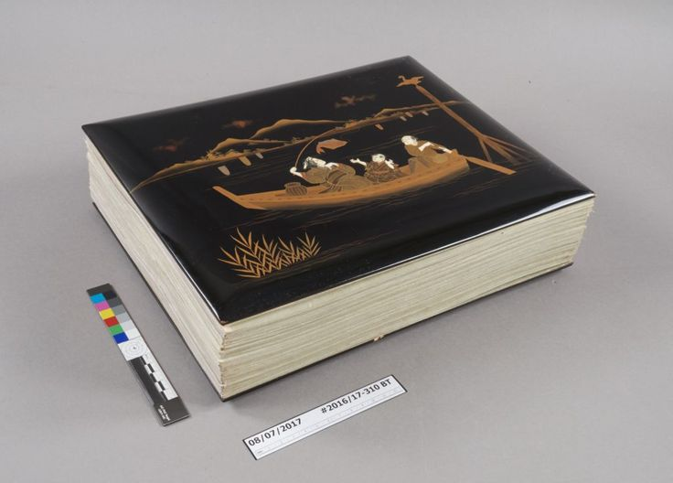 Take a look at this gorgeous late 19th-century Japanese photograph album. What does it take to preserve such an #Antique!  http://qoo.ly/kvzxf