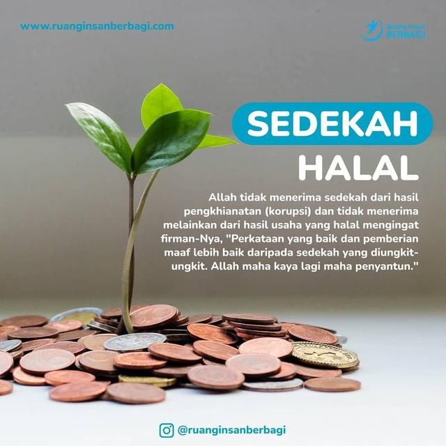 Pin Di Sedekah Halal