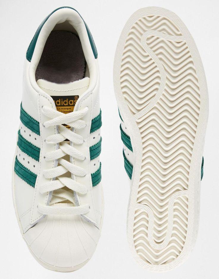 adidas original superstar 80s dlx beige
