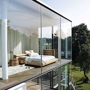Bedroom with a view