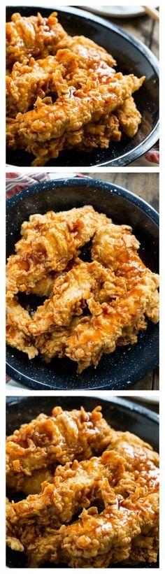 Honey Chipotle Chicken Crispers (Chili's copycat) http://amzn.to/2sC3D4I