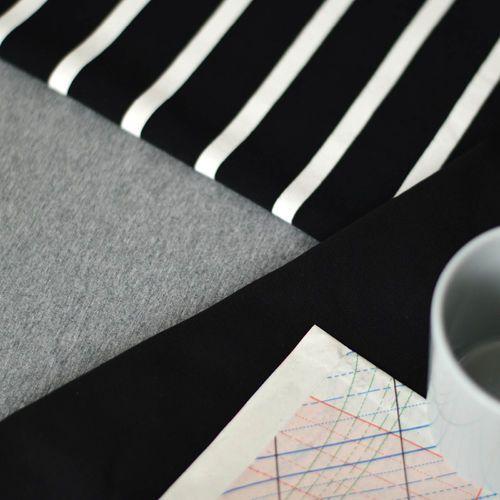 NOSH Organics Fabrics - Jersey, Medium Melange Gary