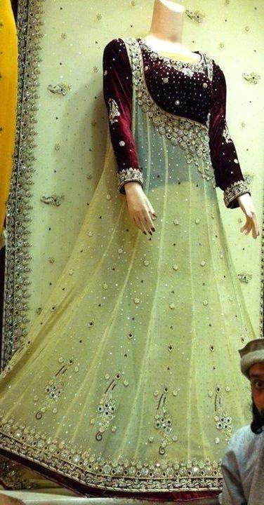 Pakistani boutique dress