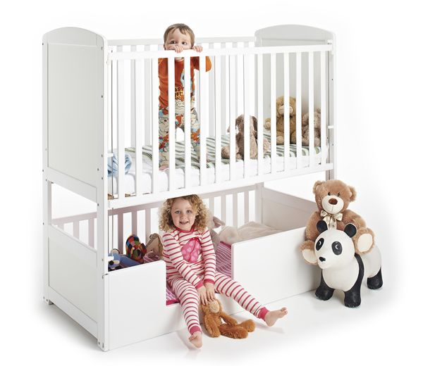 Best *Mg I Want This For My Kids White Baby Bunk Cot Bed From Bunkcot Cute Stuff For Kids 400 x 300