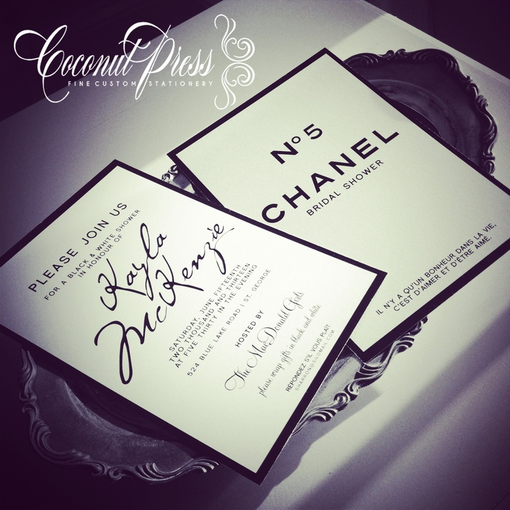 pink black and white bridal shower invitations%0A Black And White Wedding Shower Invitations Awesome