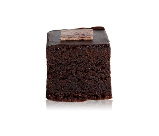 Mud Cake - A decadent moist chocolate cake with ground almond meal, marsala liqueur covered in a rich chocolate ganache