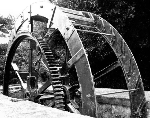 Waterwheel in Jubilee Park, Glynn
