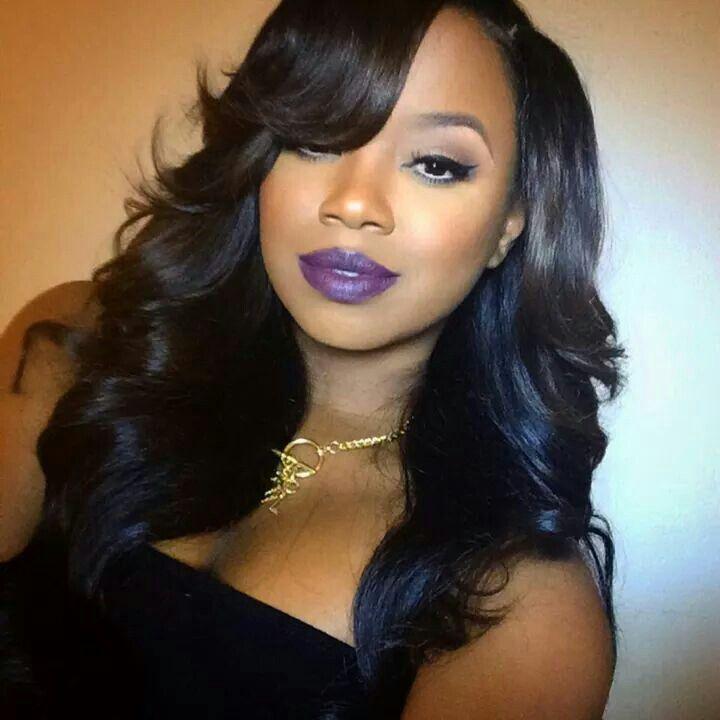MAC Smoked Purple Lipstick