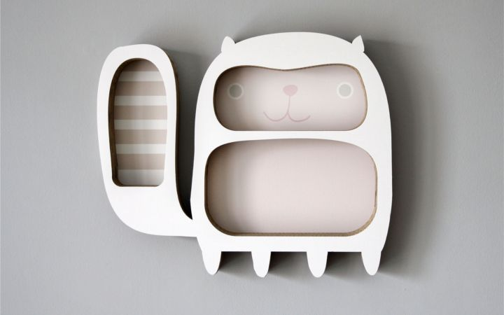 Wandregal+Happy+kittens+von+Designstudio+DecorPlay+auf+DaWanda.com