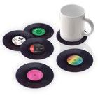 Record Label Coaster Set