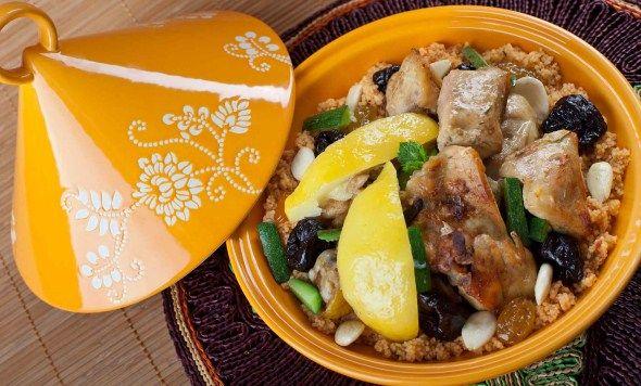 Moroccan lemon chicken/Marokkolainen sitruunakana