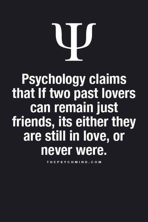 Ex girlfriend psychology
