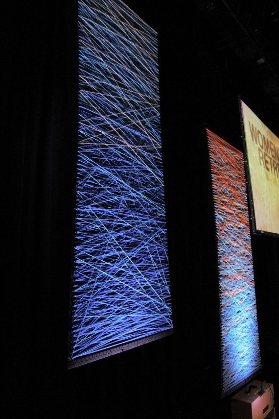 Patterns in the Yarn from SpringHill Camps   Church Stage Design Ideas