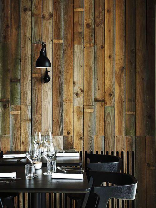 Restaurante Radio in Copenhagen Arquiteto: HolmbäckNordentoft Fonte: from scandinavia with love