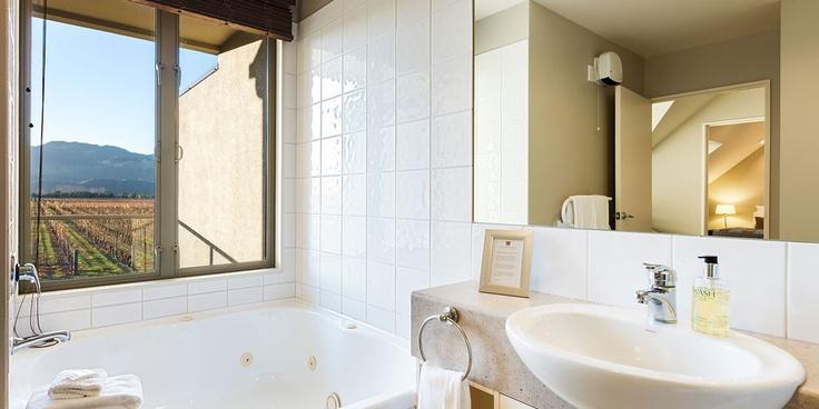 Bathroom with a view - Manor Villa