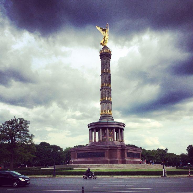 Берлин,  Германия  Колонна победы Berlin Germany Deutschland