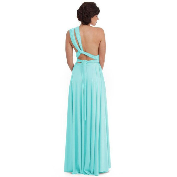 Introducing the renowned Goddess By Nature Multi-way dress. It can be also be worn as a formal dress.This gown can be worn in over 50 ways to flatter and suit every body shape and style. This amazing gown can be made in 40 colours. Also available in cocktail and plus size. Matching bandeau tops also available upon request to make the gowns bra friendly.Call one of our stylists on 1300 526 443 for more information!  SIZINGSize 0 fits size 4-8 Size 1 fits size 10-16 Size 2 available upon...
