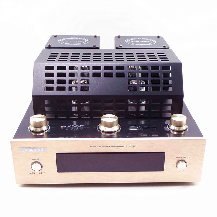 (126.00$)  Buy here  - 6J8P Vacuum tube amplifiers with Bluetooth SD USB lossless music player HIFI Stereo AMP audio speaker amplifier Nobsound BT-M12